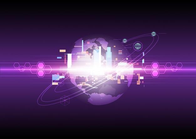 Фон глобальных коммуникационных технологий