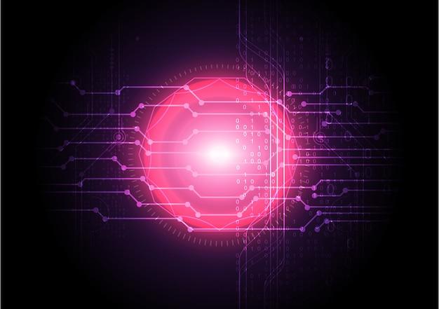 Абстрактный фон технологии