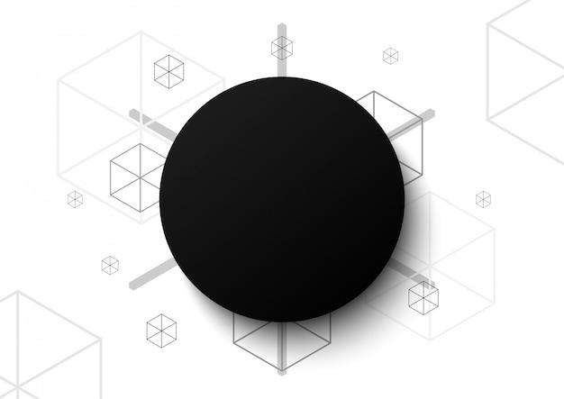 Абстрактный фон дизайн многоугольника