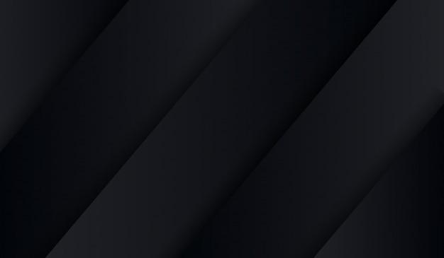 抽象的な黒いハイテク折りシャドウの背景