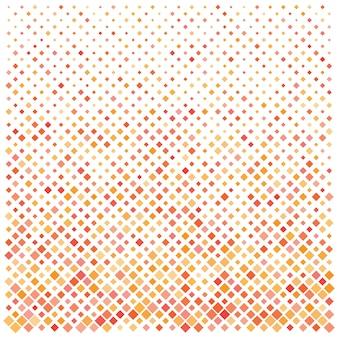 着色されたモノクロの正方形パターン