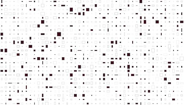 ピクセルモザイクパターン