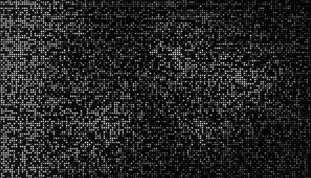 小さな正方形で作られた光沢のあるハーフトーンパターン