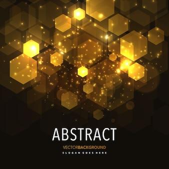 抽象的な輝きの幾何学的背景