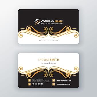 飾り渦訪問カード