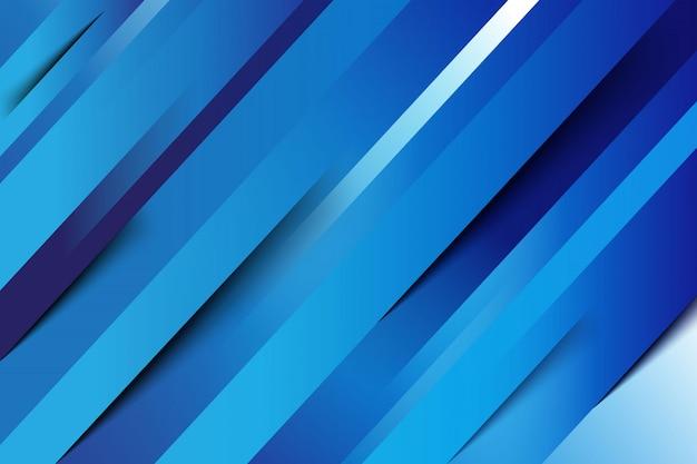 青の抽象的な線の背景
