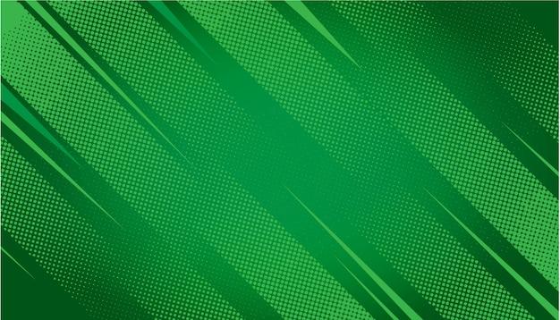 緑の抽象的なハーフトーンの背景