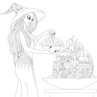 Подготовка ведьмы