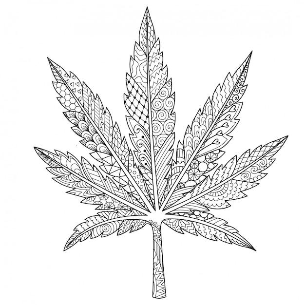 Марихуана лист