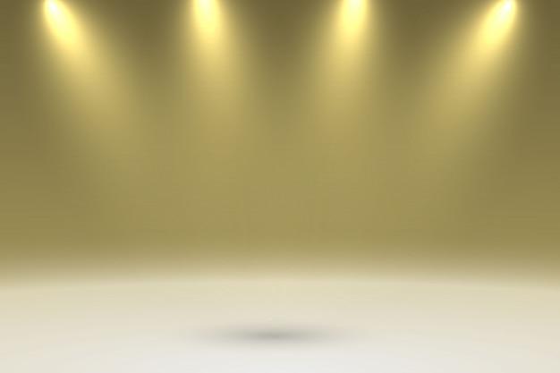 影の背景を持つスタジオルーム