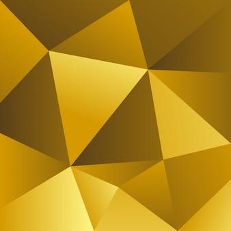 黄色の三角形の背景