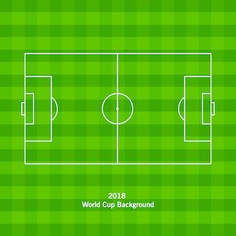 Футбольное поле или футбольная площадка