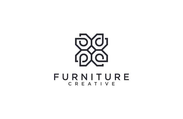 素晴らしい家具のロゴ