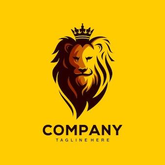ライオンのロゴのテンプレート