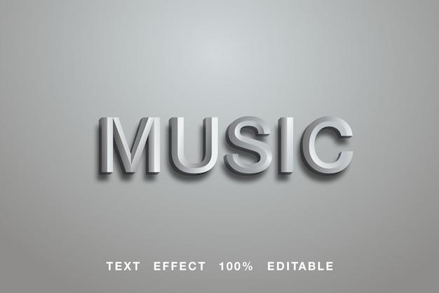 音楽の灰色のテキスト