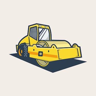掘削機のロゴ