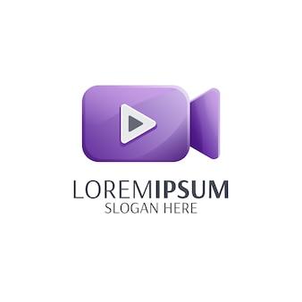 ビデオのロゴを再生