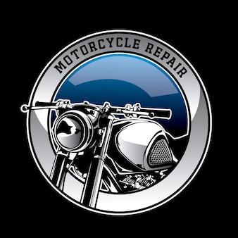 オートバイのロゴの背景