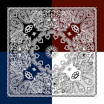 白いパターンの背景