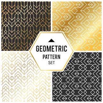 Геометрический фон с ромбом и узлами. абстрактный геометрический рисунок