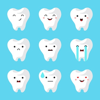 歯科医院の歯が設定されています。