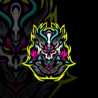 Темные воины логотип талисмана киберспорта