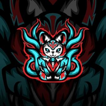 Логотип талисмана киберспорта