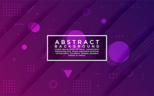 Градиент фиолетовый красочный фон в сочетании с абстрактной формы и элемента.