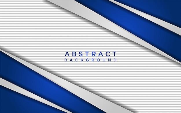 オーバーラップレイヤーとラインテクスチャと抽象的な白と青の背景