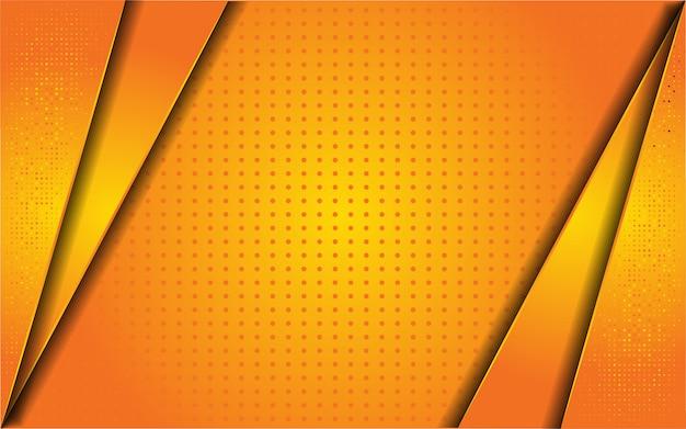 Абстрактный оранжевый фон с блеском