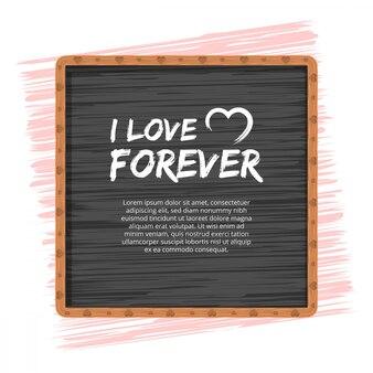 愛やバレンタインデーのコンセプト