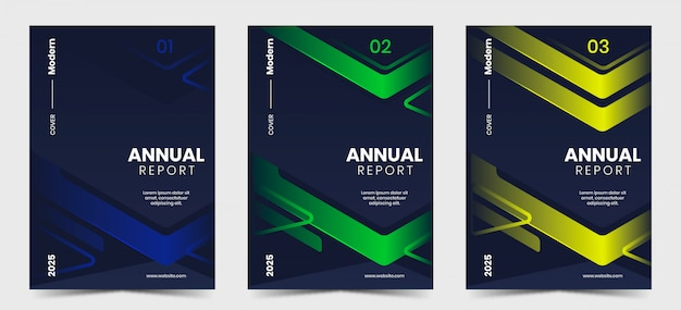 Современная обложка годового отчета