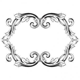 Барочный орнамент украсить
