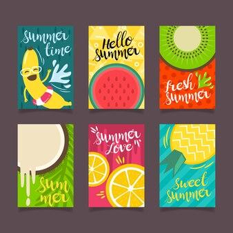 こんにちは夏のポスターコレクション