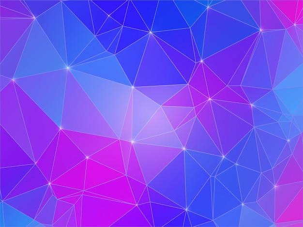 多角形のカラフルな背景