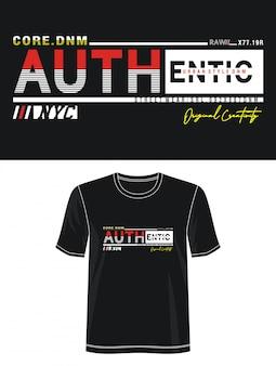 Аутентичные типографии для печати футболки