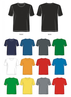 Шаблон футболки