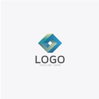 幾何学的なロゴデザイン
