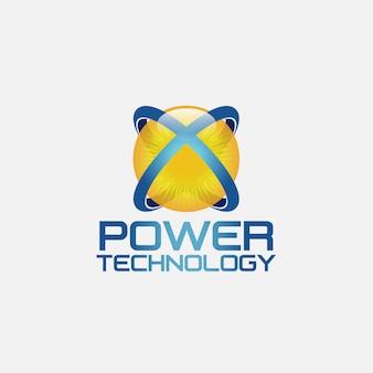テクノロジーのロゴデザイン