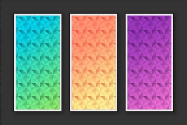 モダンな抽象的なパターンの背景