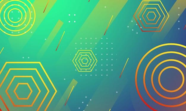 最小限の抽象的な背景と幾何学的なテクスチャ