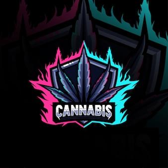 大麻マスコットロゴ