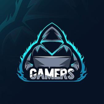 ゲーマーマスコットロゴ