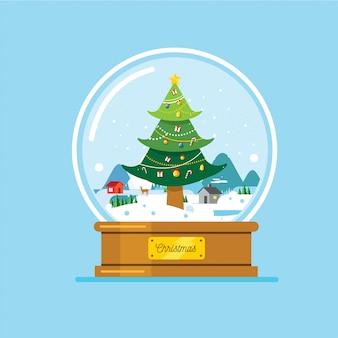クリスマスクリスタルボール