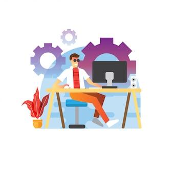 デザイナー開発者の生活
