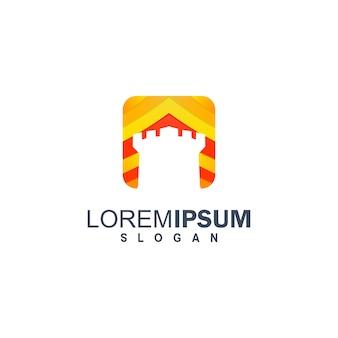 Красочный кастильский логотип