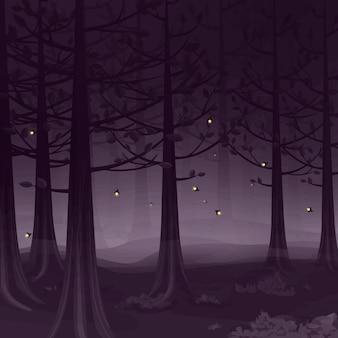 ホタルの森