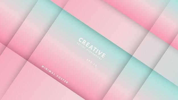 Абстрактный красочный фон. композиция с градиентом