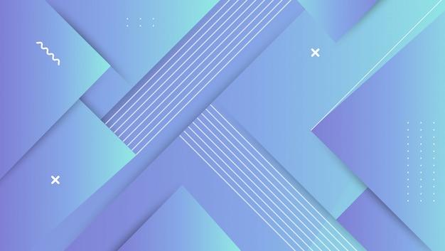 抽象的なグラデーションの幾何学的図形の背景。