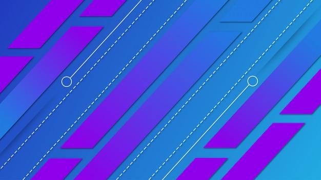 Градиент геометрической формы фон